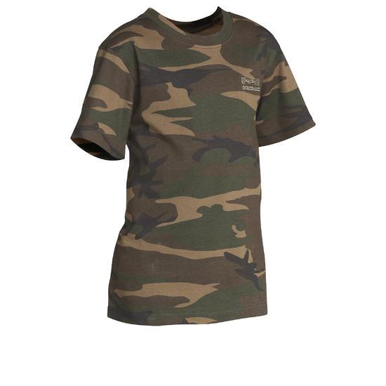 Kinder T-shirt Steppe 100 camouflage Island - 613130