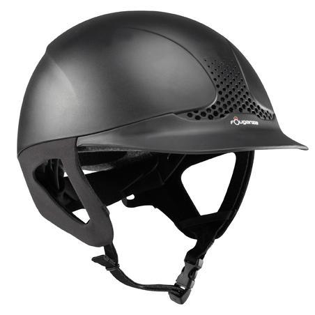 קסדת רכיבה בטיחותית - שחורה