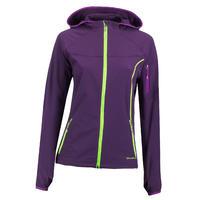 Forclaz 600 Women's Windproof Hiking Jacket Purple