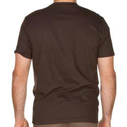 100 Short-Sleeve Hunting T-Shirt - Brown