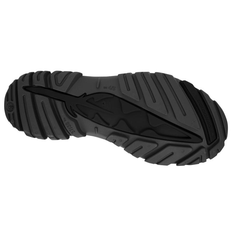 รองเท้าบูตสั้นสำหรับเด็กรุ่น I100 (สีดำ)