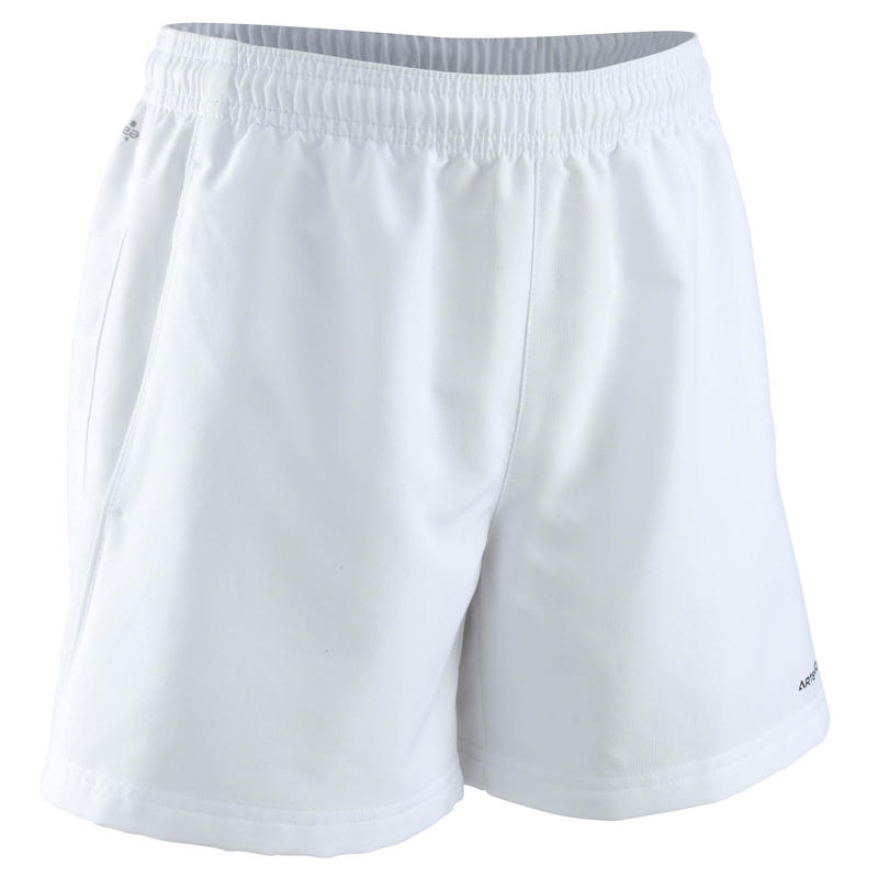 100 Kids' Tennis Shorts - White