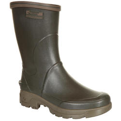Stevige halfhoge laarzen Inverness 300 groen - 618820