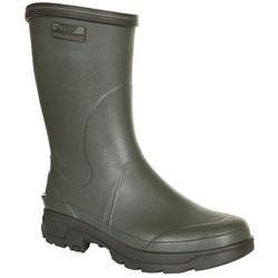Warme laarzen Sibir 300 groen rubber