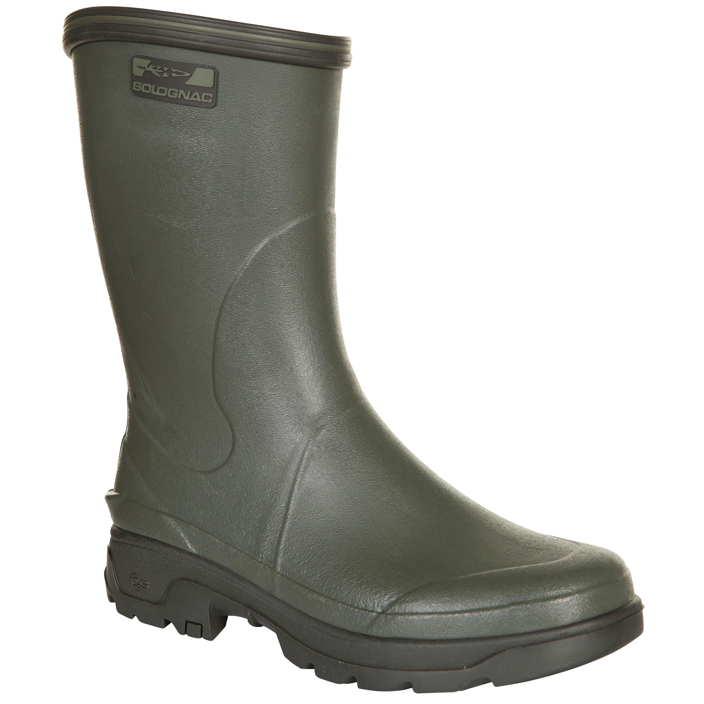 Herren Winter-Jagdstiefel Inverness 300 Gummistiefel grün | 03583788856573