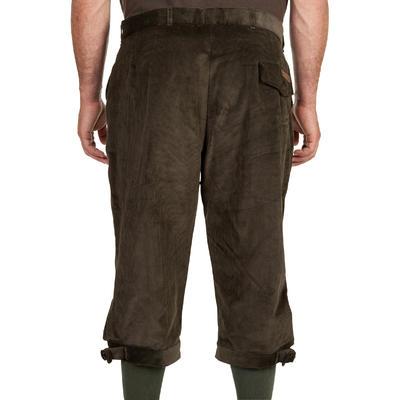 Бриджі Sibir 100 для полювання, вельветові - Зелені