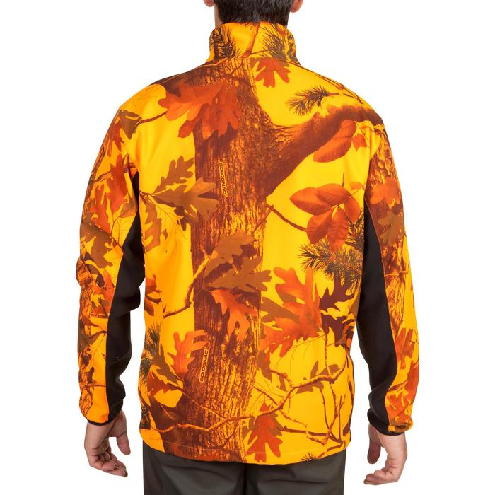 Veste Softshell chasse Sibir 500 camouflage fluo - 619341