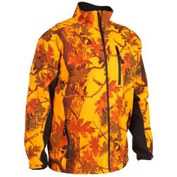 Veste Softshell chasse Sibir 500 camouflage fluo