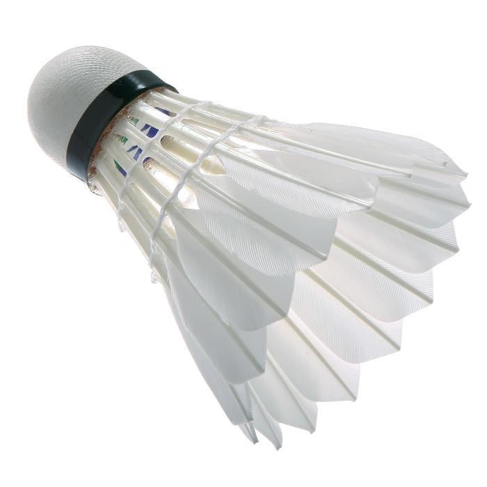 Badmintonshuttle Aerosensa 30 snelheid 77 x 12