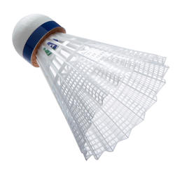 Badminton shuttle Mavis 500 wit 6 stuks - 619396