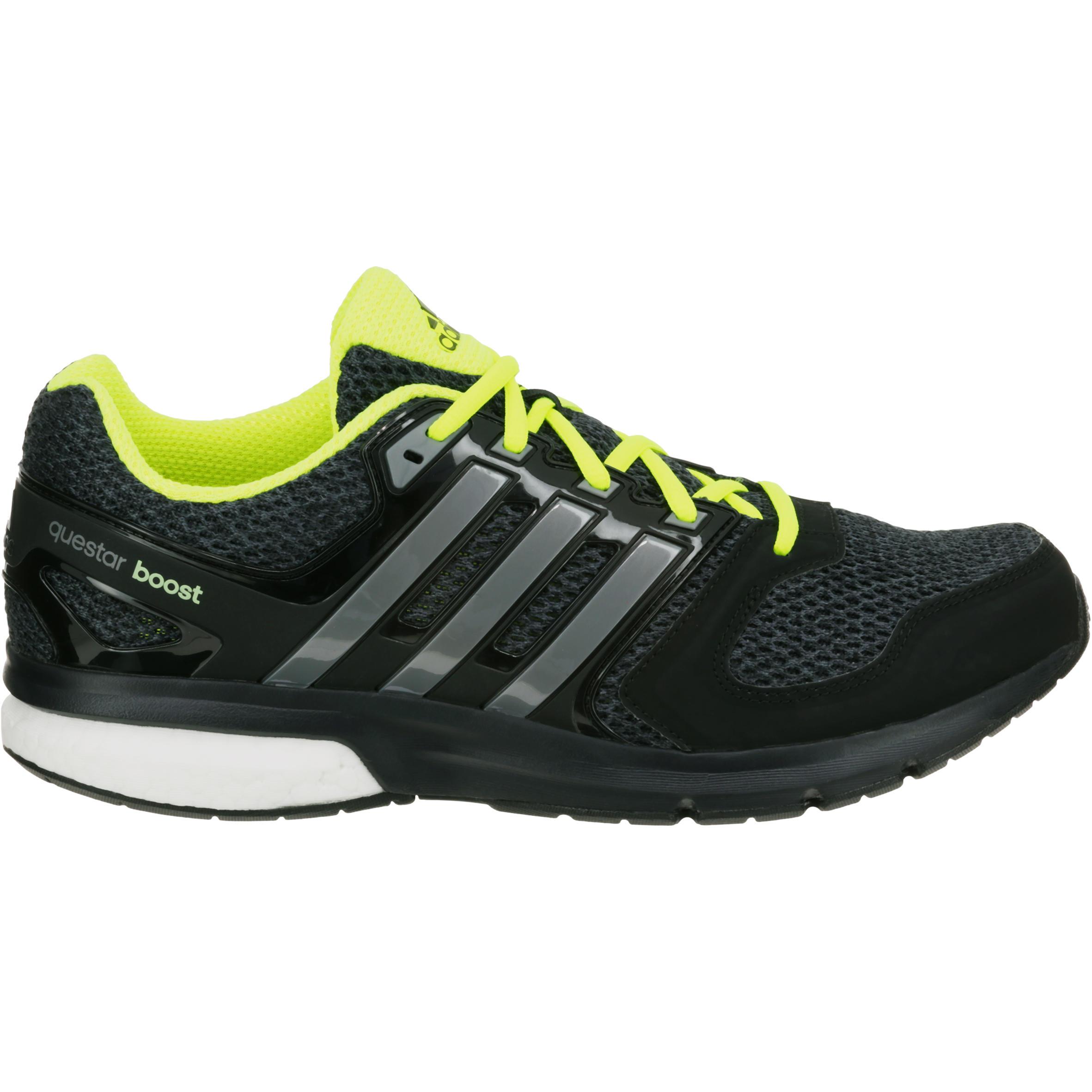 Chaussure Running Questar Noir Jaune Homme Adidas erxBdCoW
