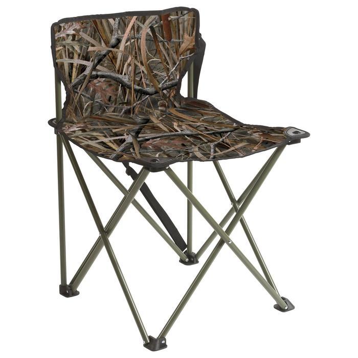Siège pliant chasse camouflage marais - 621893