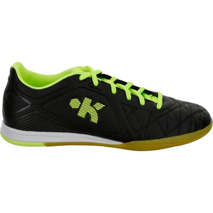 Zaalvoetbalschoenen Agility 500 voor kinderen zwart/geel