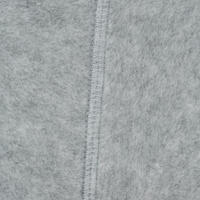 Kids' Fleece Horse Riding Boot Socks - Light Grey