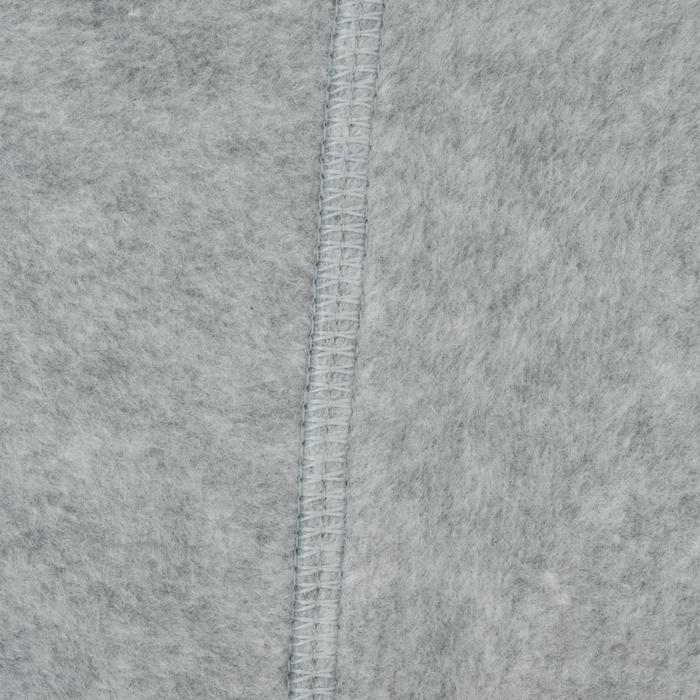 Chaussons pour bottes équitation enfant polaire gris clair