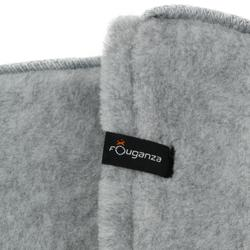 Winter- Stiefelsocken Fleece Kinder hellgrau