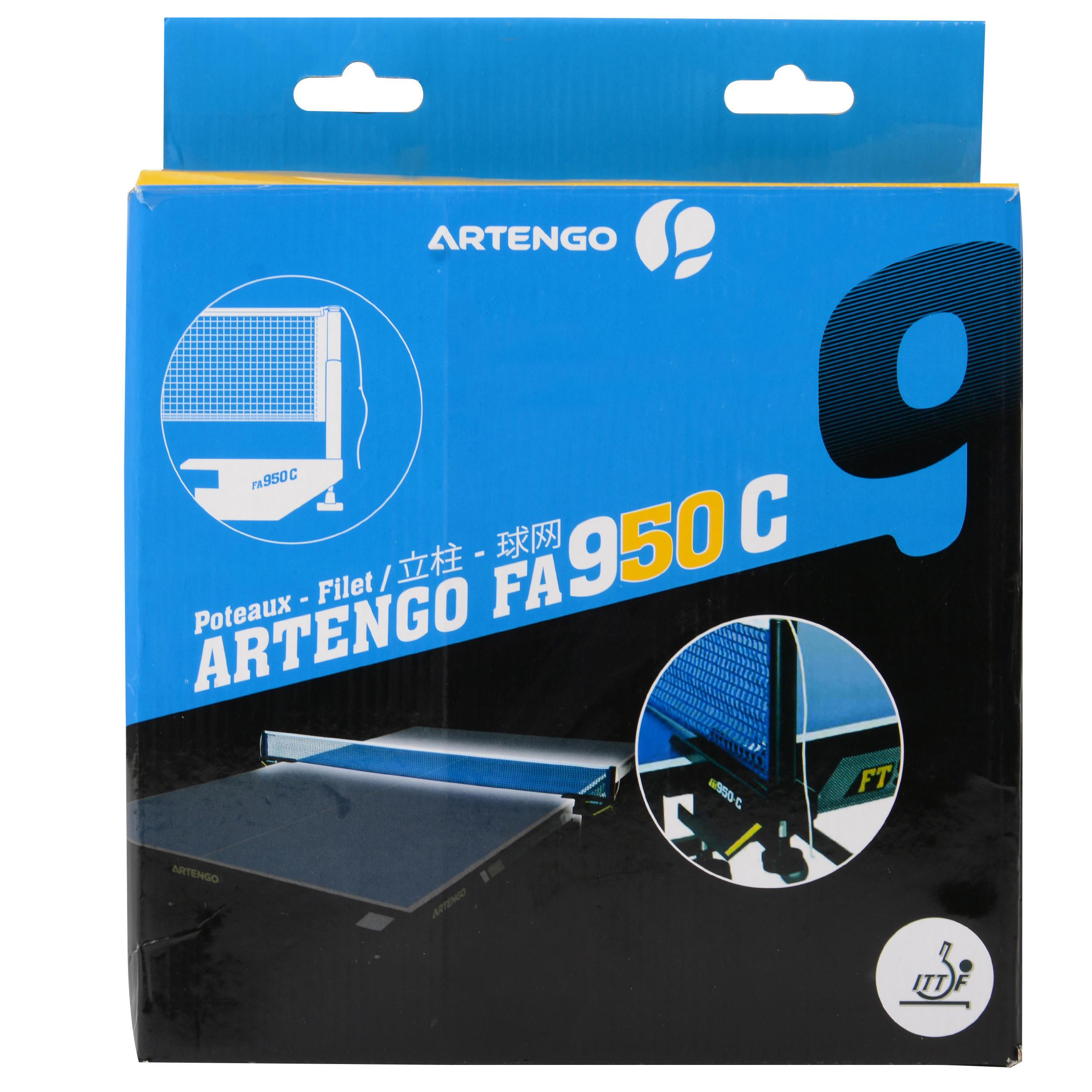 Artengo SETJE MET NETPOSTEN EN NETJE VOOR TAFELTENNIS FA 950 C ITTF kopen met voordeel