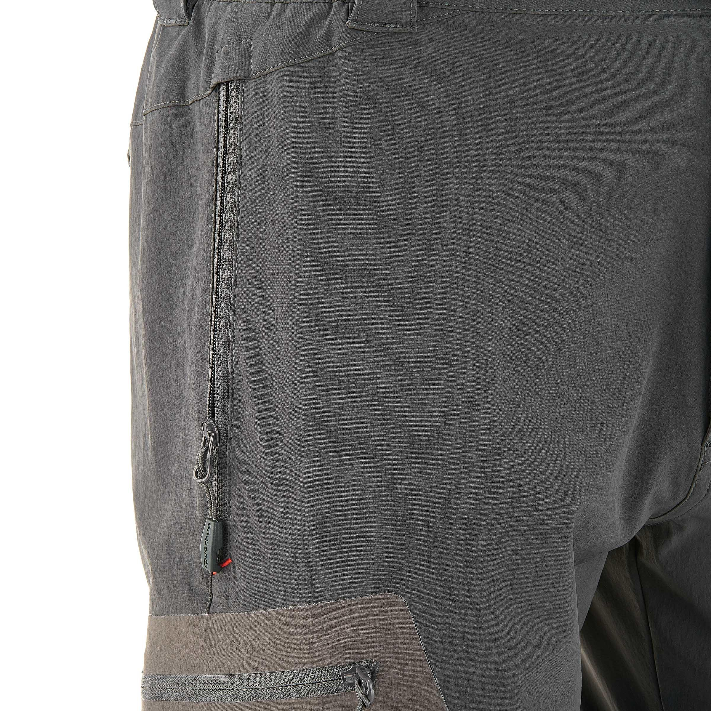 Gris Foncé Randonnée Forclaz Homme Pantalon 500 Modulable rWBxeQCdo