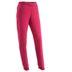 Fleece dameslegging Forclaz 50 voor trekking