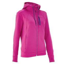Fleece trekking dames Forclaz 400 stretch