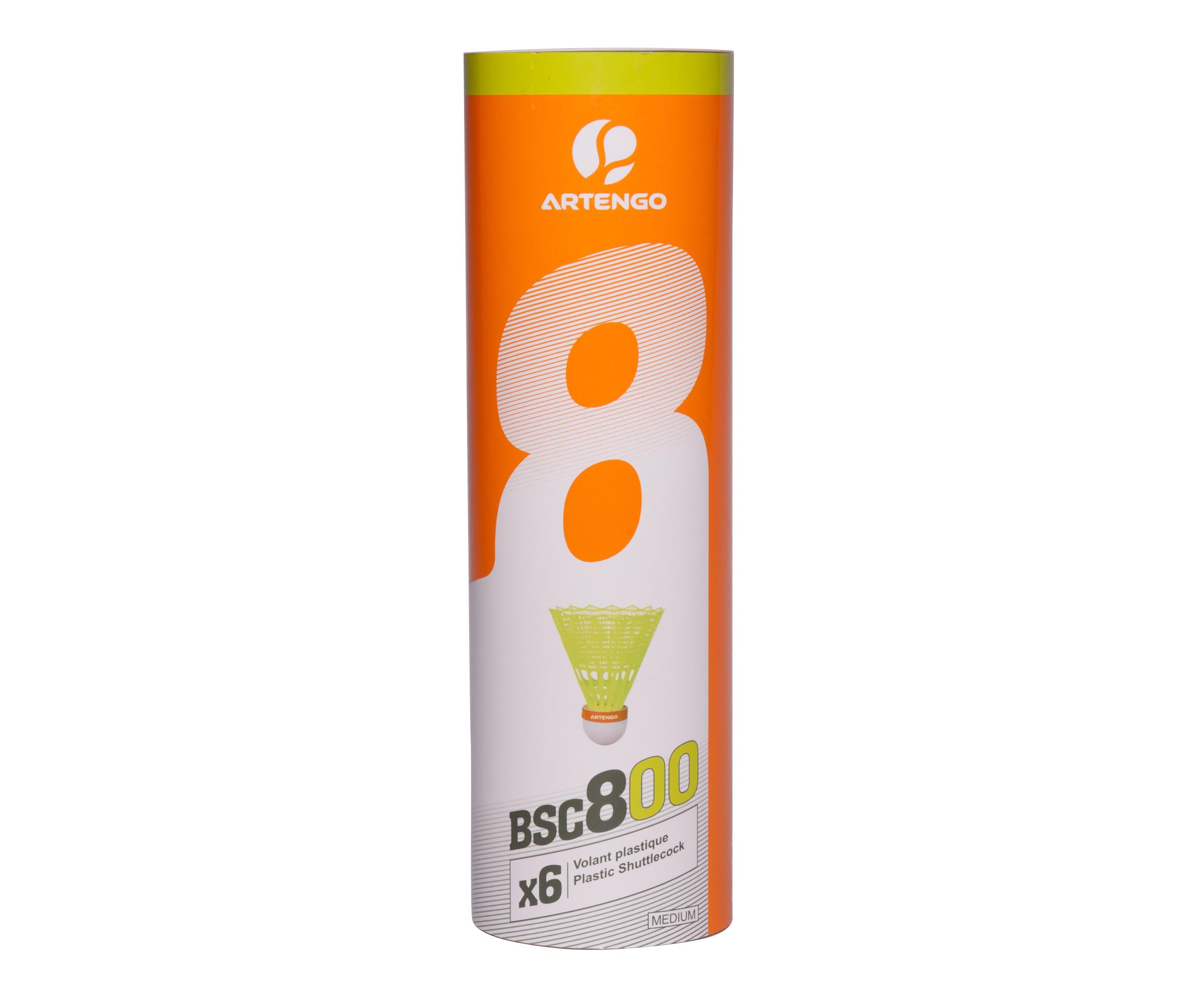 Artengo Badminton shuttle BSC800 6 stuks