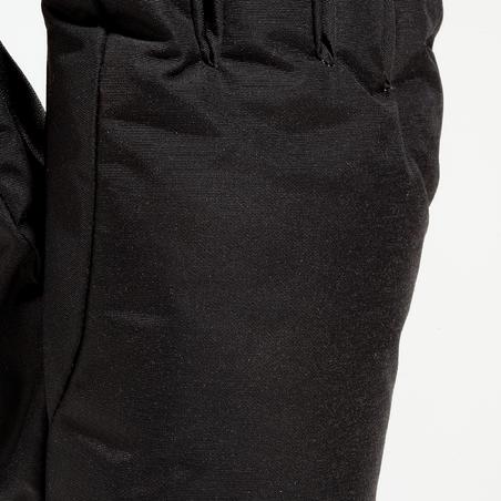 Slide 100 Adult Ski Gloves - Black