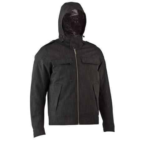 Чоловіча куртка SH500 X-Warm для зимового туризму - Попелясто-сіра