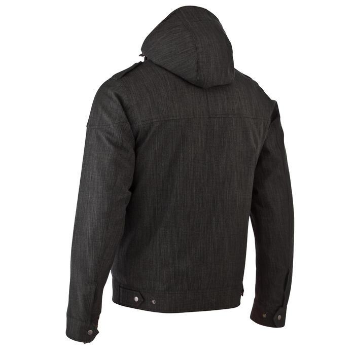 Veste de randonnée neige homme SH500 x-warm gris carbone. - 629279