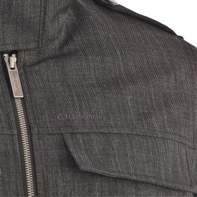SH600 ג'קט גברים חם לטיולים בשלג - אפור פחם
