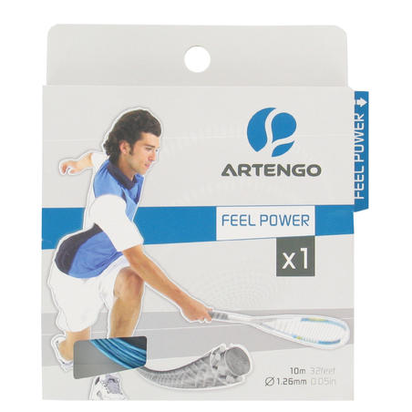 ARTENGO SS feel Power 1.26 mm squash stringing