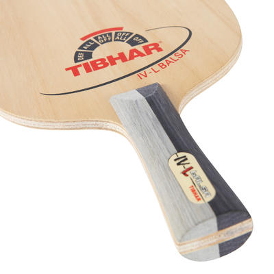 BOIS DE RAQUETTE DE TENNIS DE TABLE IV L BALSA
