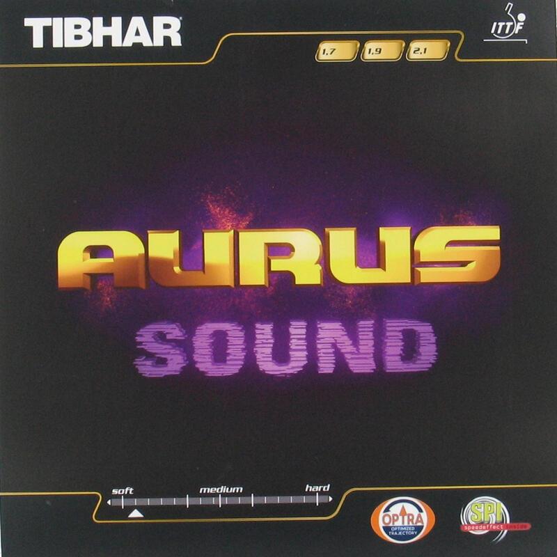 Rubber voor tafeltennisbat Auras Sound