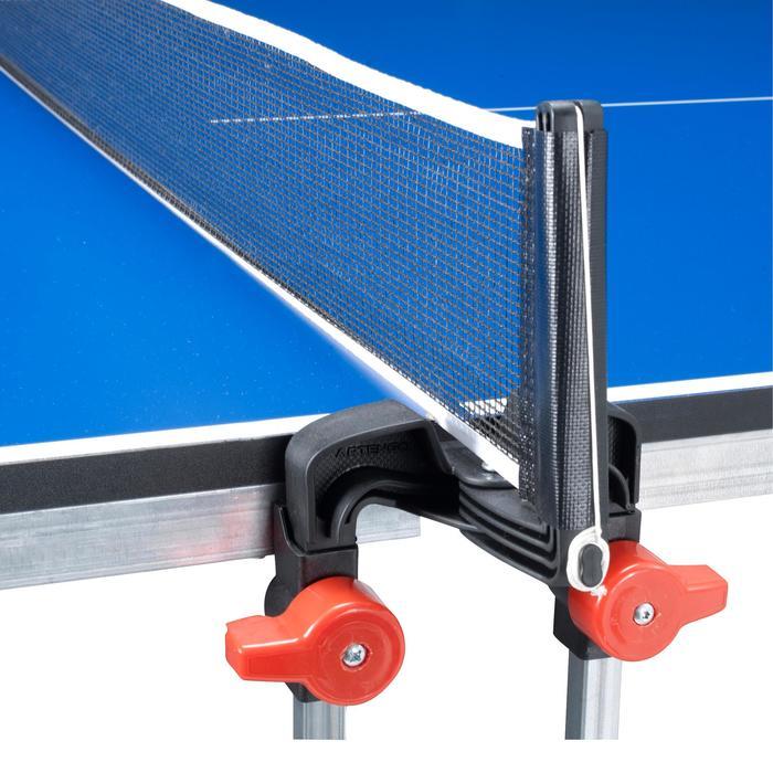 Set net en verstelbare poten voor de tafeltennistafel FT840 I.