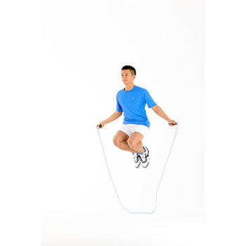 Comba para saltar contador Cardio Fitness Domyos adultos negro azul