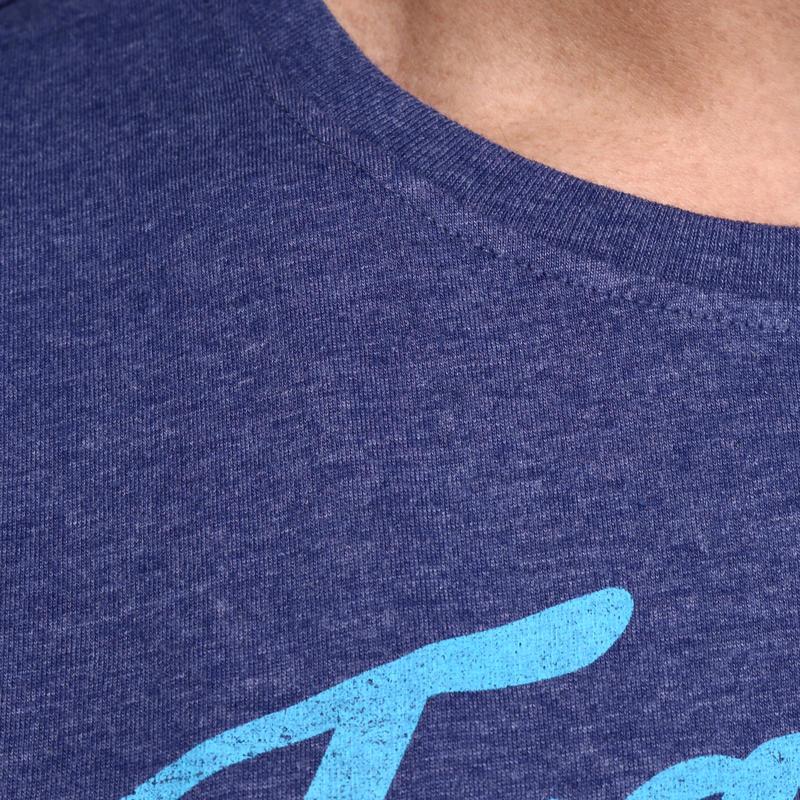Tee shirt OPCO musculation homme bleu medieval