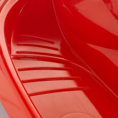 Luge enfant avec frein Snow formel rouge