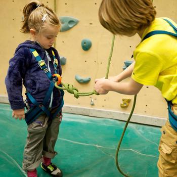 Complete klimgordel voor kinderen Spider Kid
