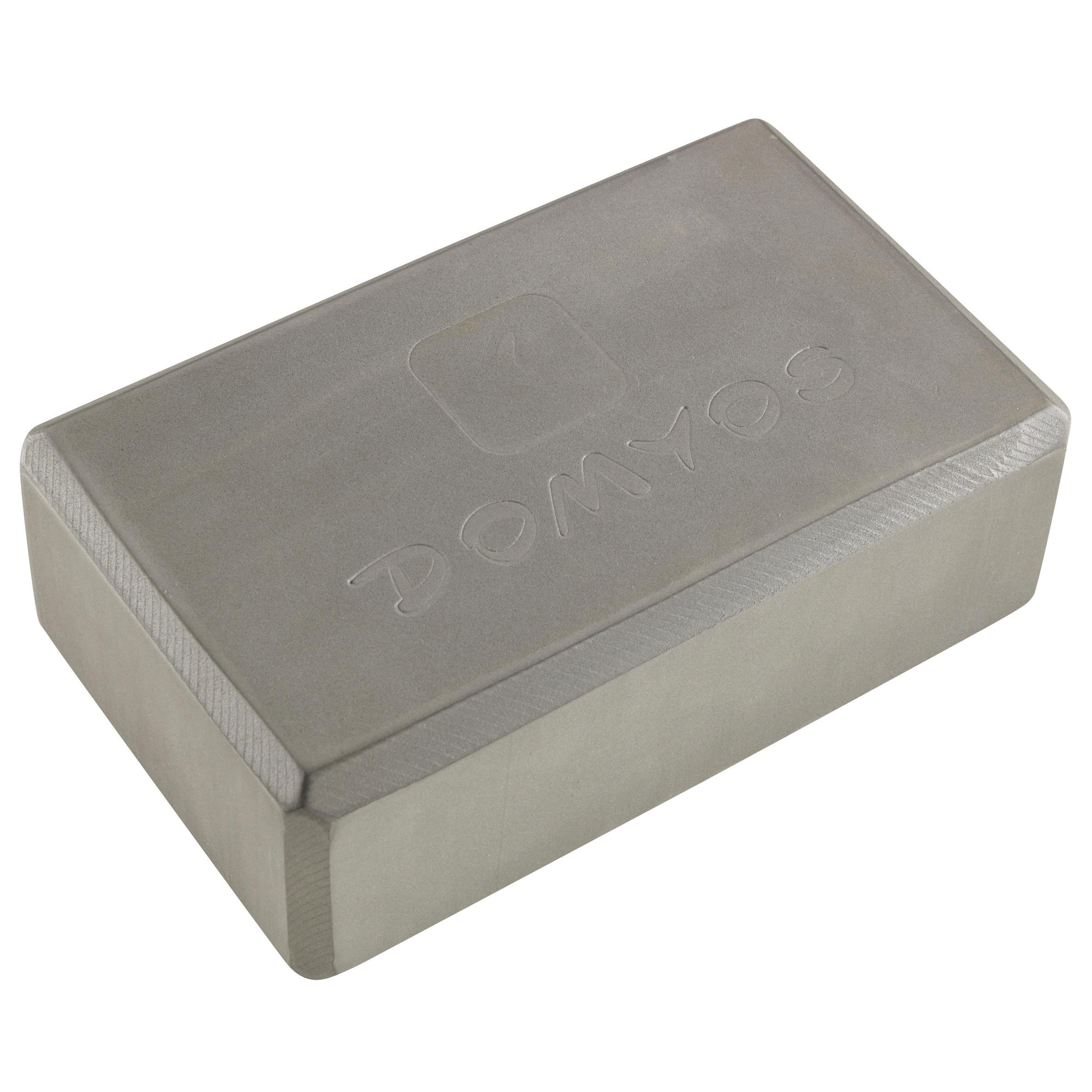 Foam Yoga Brick - Abu-abu Gelap