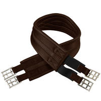 Anatomic Horse Riding Synthetic Girth for Pony/Horse - Brown