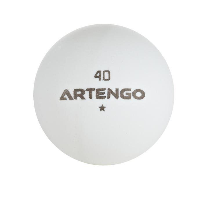 ARTENGO FB 800 table tennis training ball x 10 - 634408