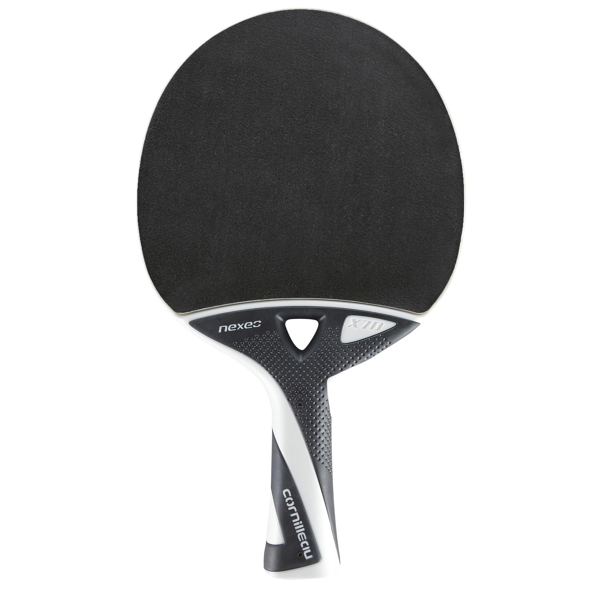 Cornilleau raquette de tennis de table free nexeo x70 outdoor decathlon - Raquette de tennis de table decathlon ...