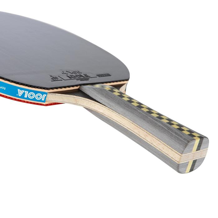 RAQUETTE DE TENNIS DE TABLE FREE CARBON PRO 5* - 634497