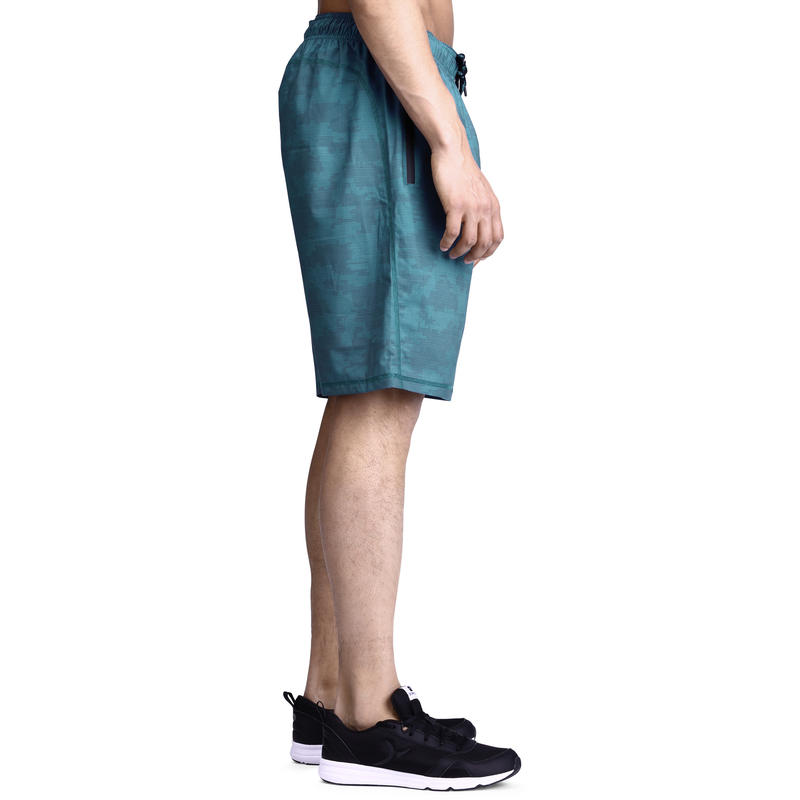 Short MUSCLE musculation homme vert