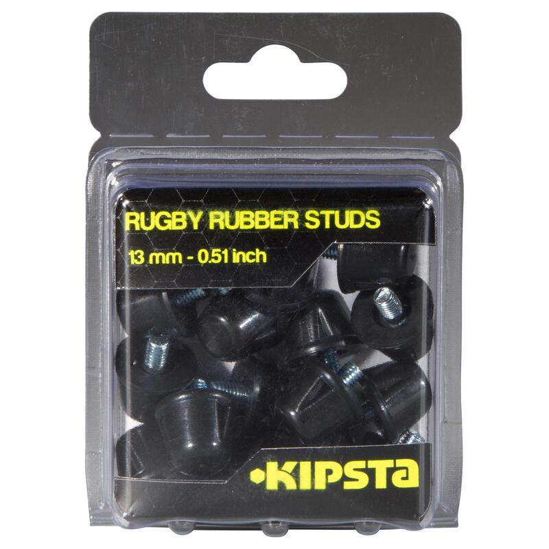 Tacos de Rugby Offload 13 mm Caucho Negro