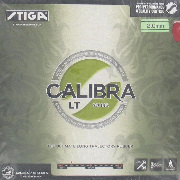Rubber voor tafeltennisbat Calibra LT Sound