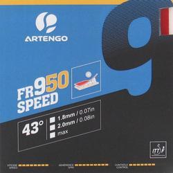 Rubber voor tafeltennisbat Artengo 950 Speed.