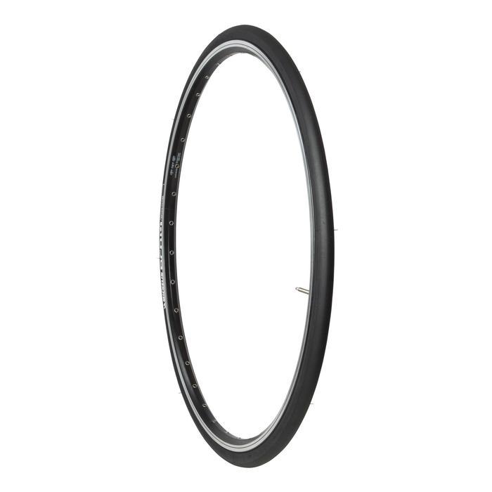 Buitenband racefiets, Pro 4 zwart 700x23 vouwband ETRTO 23-622