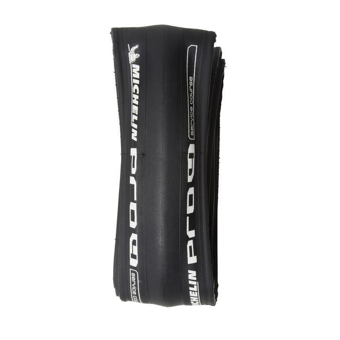 Buitenband racefiets Pro 4 zwart 700x25 vouwband / ETRTO 25-622