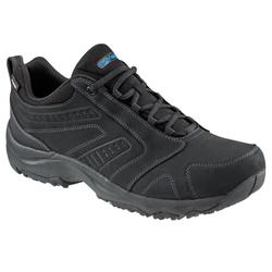 Zapatillas Caminar Nakuru Novadry Hombre Negro Impermeables Piel