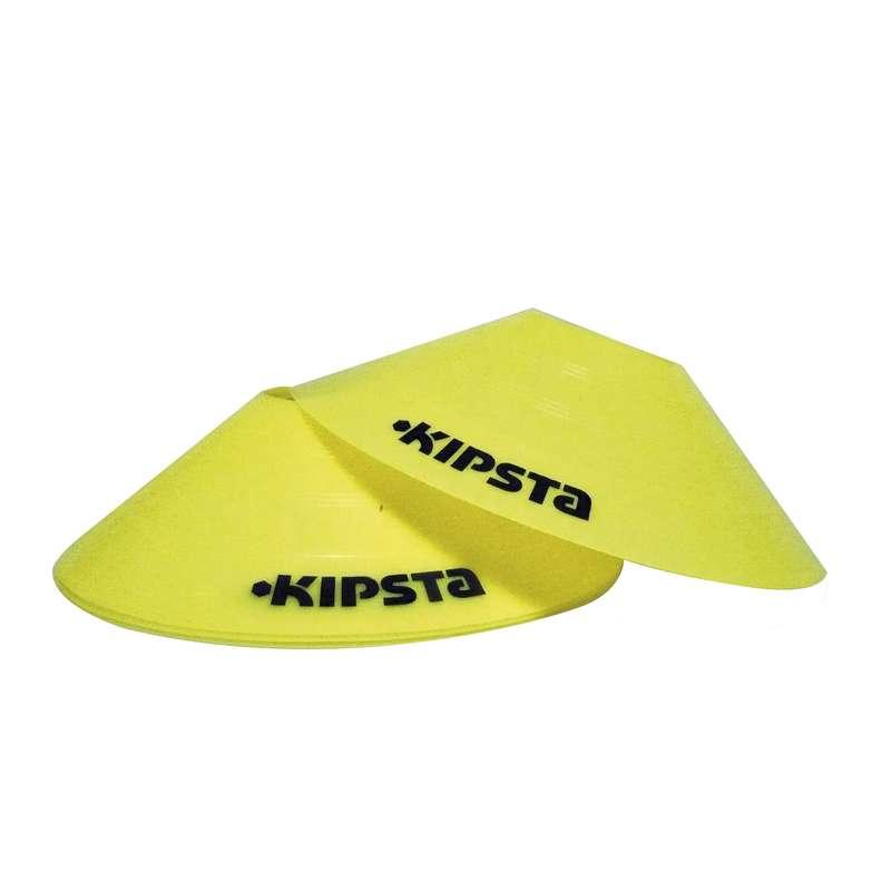 АКСЕССУАРЫ Футбол - Диски-маркеры плоские 10 штук KIPSTA - Тренировочный инвентарь